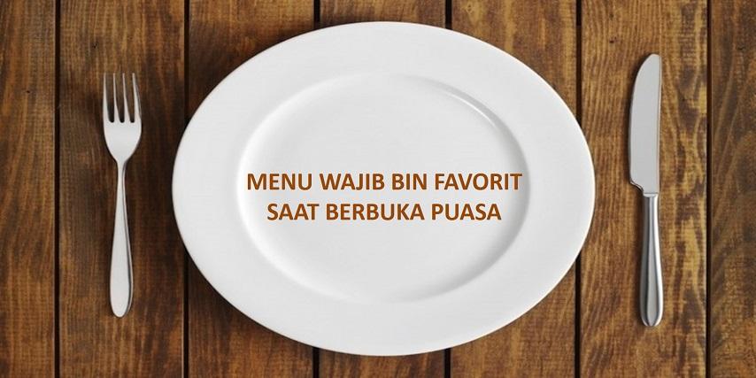menu, wajib, favorit, buka, puasa