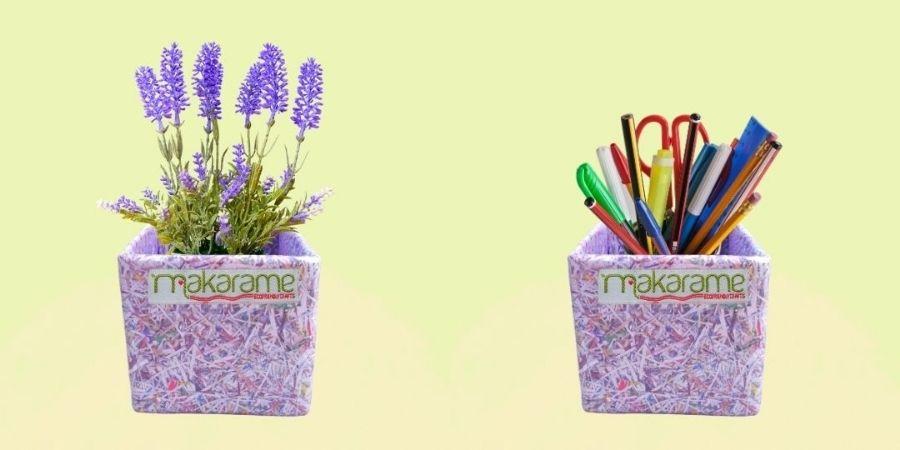 Kerajinan Kreatif dari Pengolahan Sampah Plastik Kemasan Multilayer